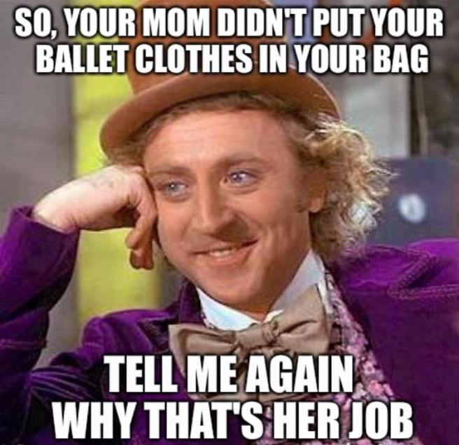 dance bag meme
